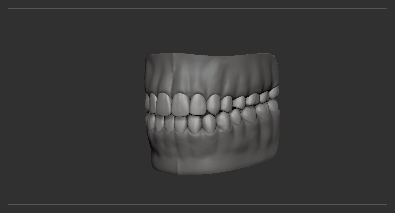 Teethtongue by alexlashko zbrush 11