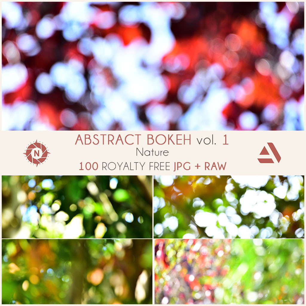 Texture pack abstract bokeh volume 1 nature 16