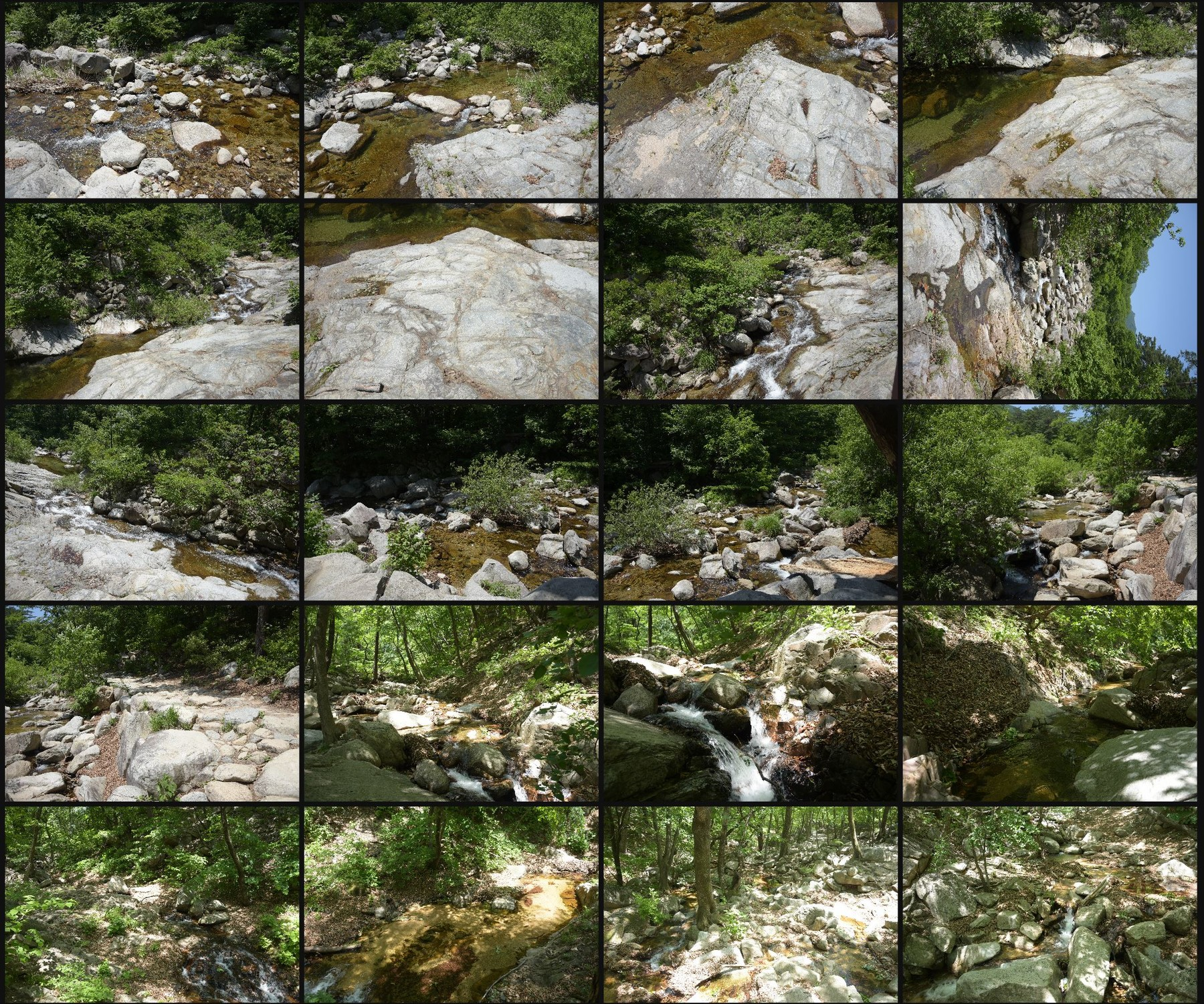 Photo reference pack moutain river 17