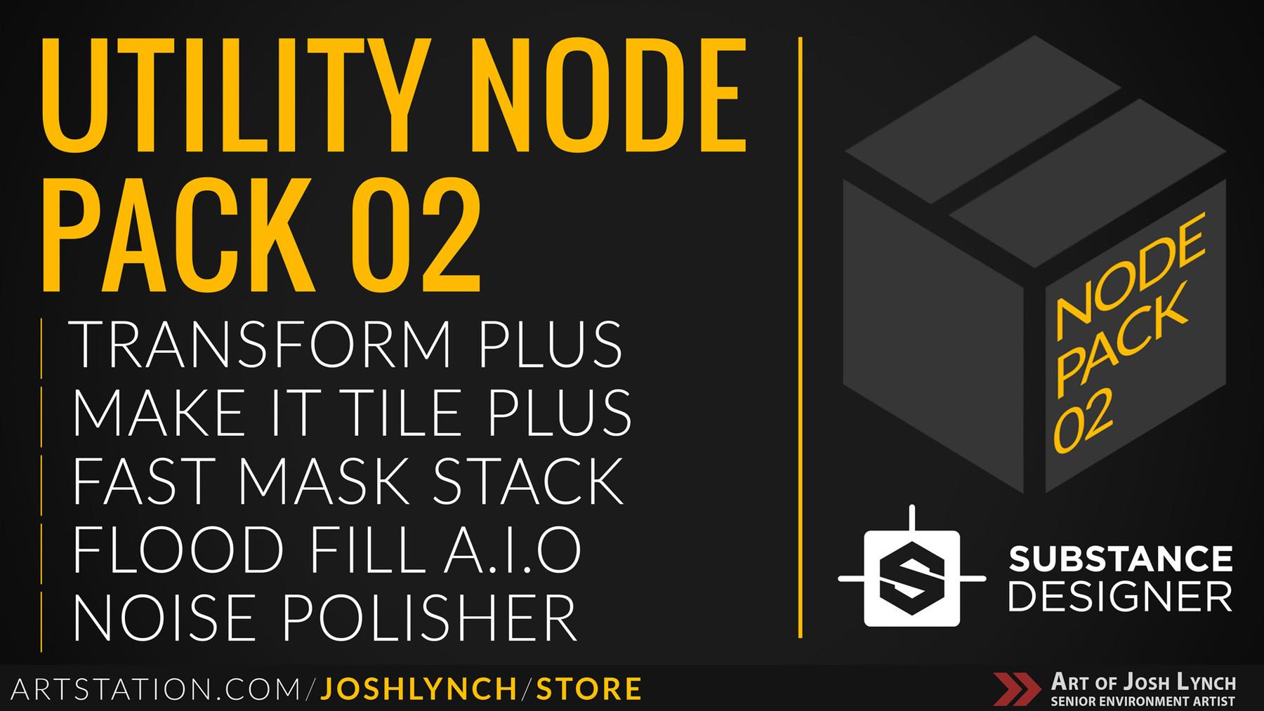 Utility node pack 02 artstation wide