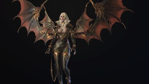 Vampire girl remaster