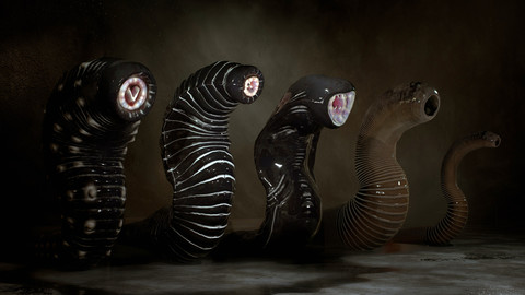 Giant Leeches Collection