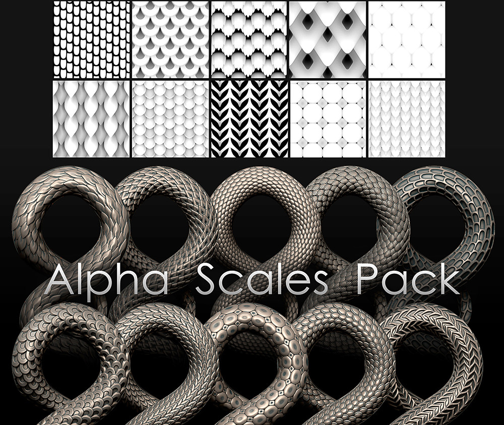 Alpha scales pack
