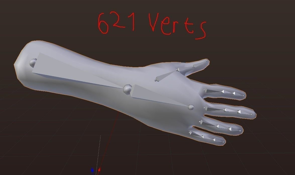 Vr hands i 32 variations i i pbr i i optimized i 3d model low poly rigged fbx mat%20%285%29
