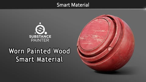 Smart Material: Worn Painted Wood