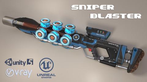 Sniper Blaster Rifle