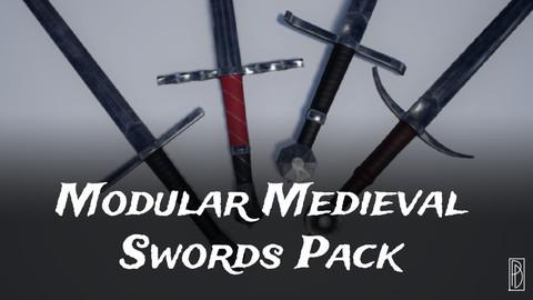 Modular Medieval Swords Pack for Unreal Engine