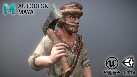 Peasant Villager Man