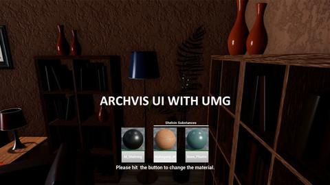 ArchVis UI with UMG UE4