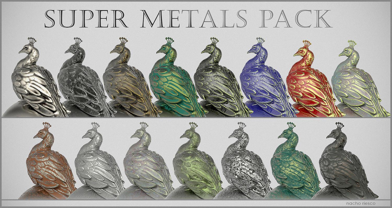 Pack metales ii 500k