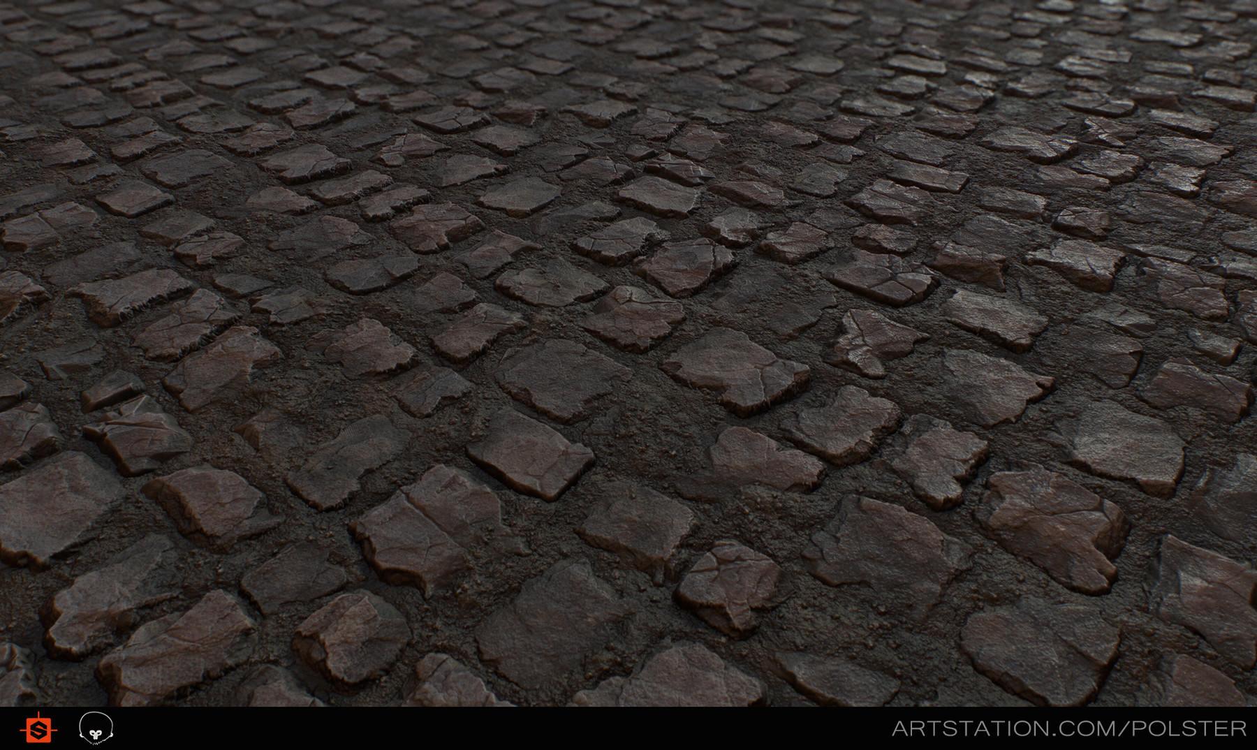 Rough cobblestone day
