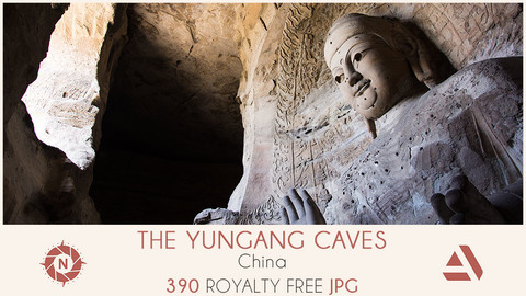 Photo reference pack china yungang caves 03