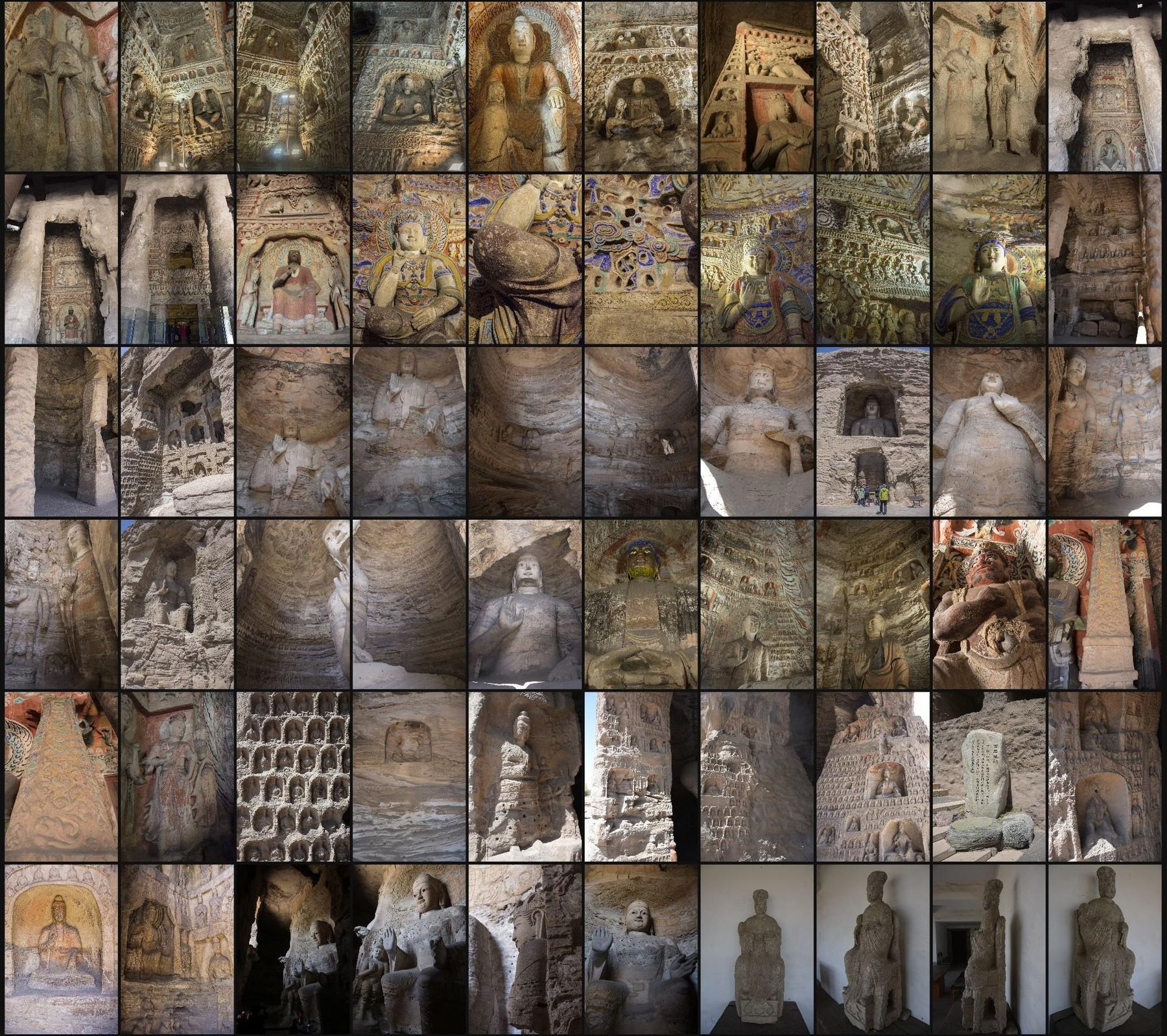 Photo reference pack china yungang caves 09