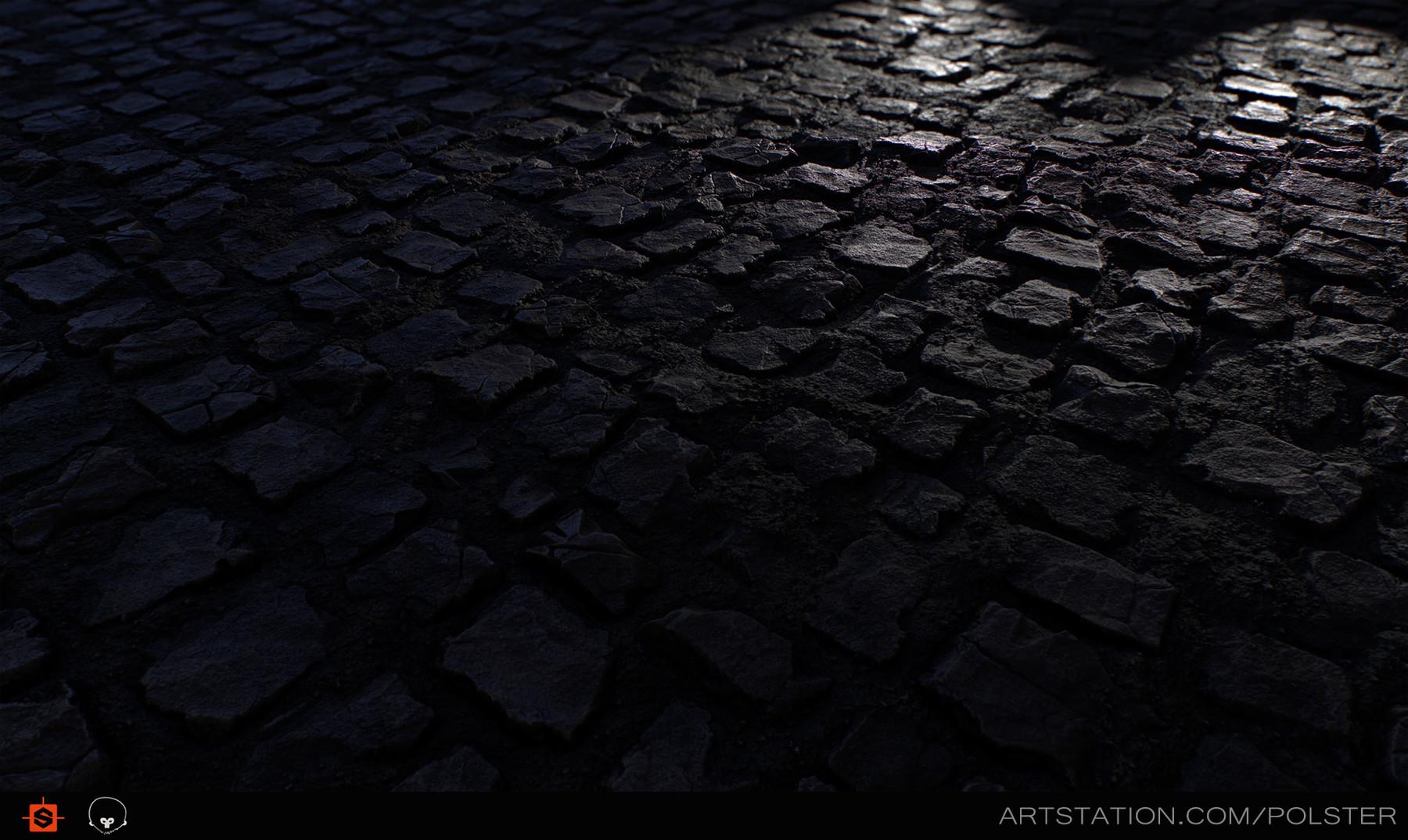 Rough cobblestone headlights