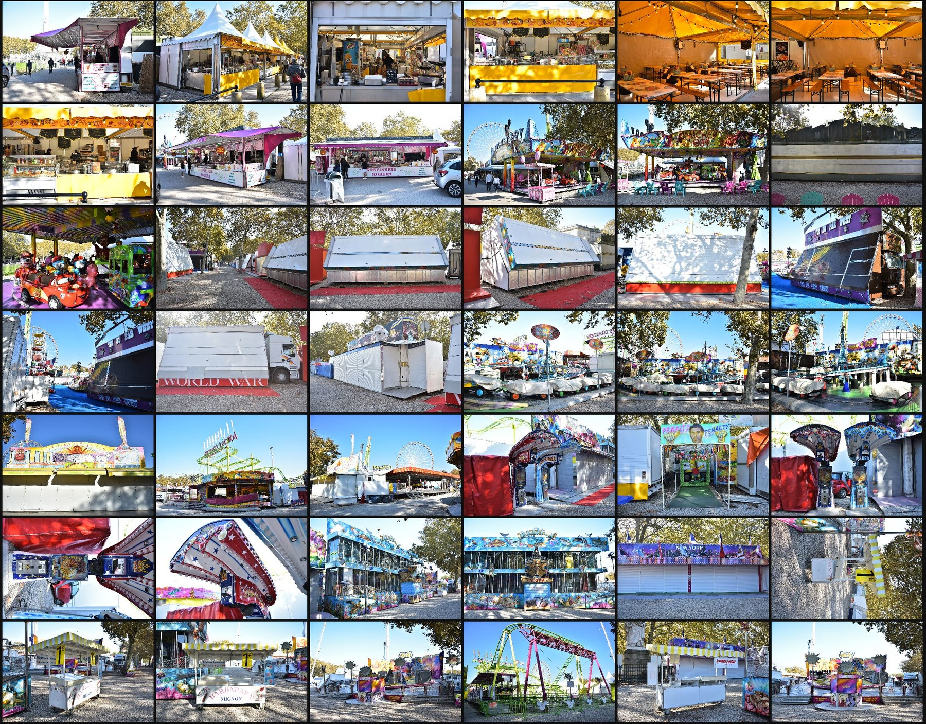 Photo reference pack funfair 11
