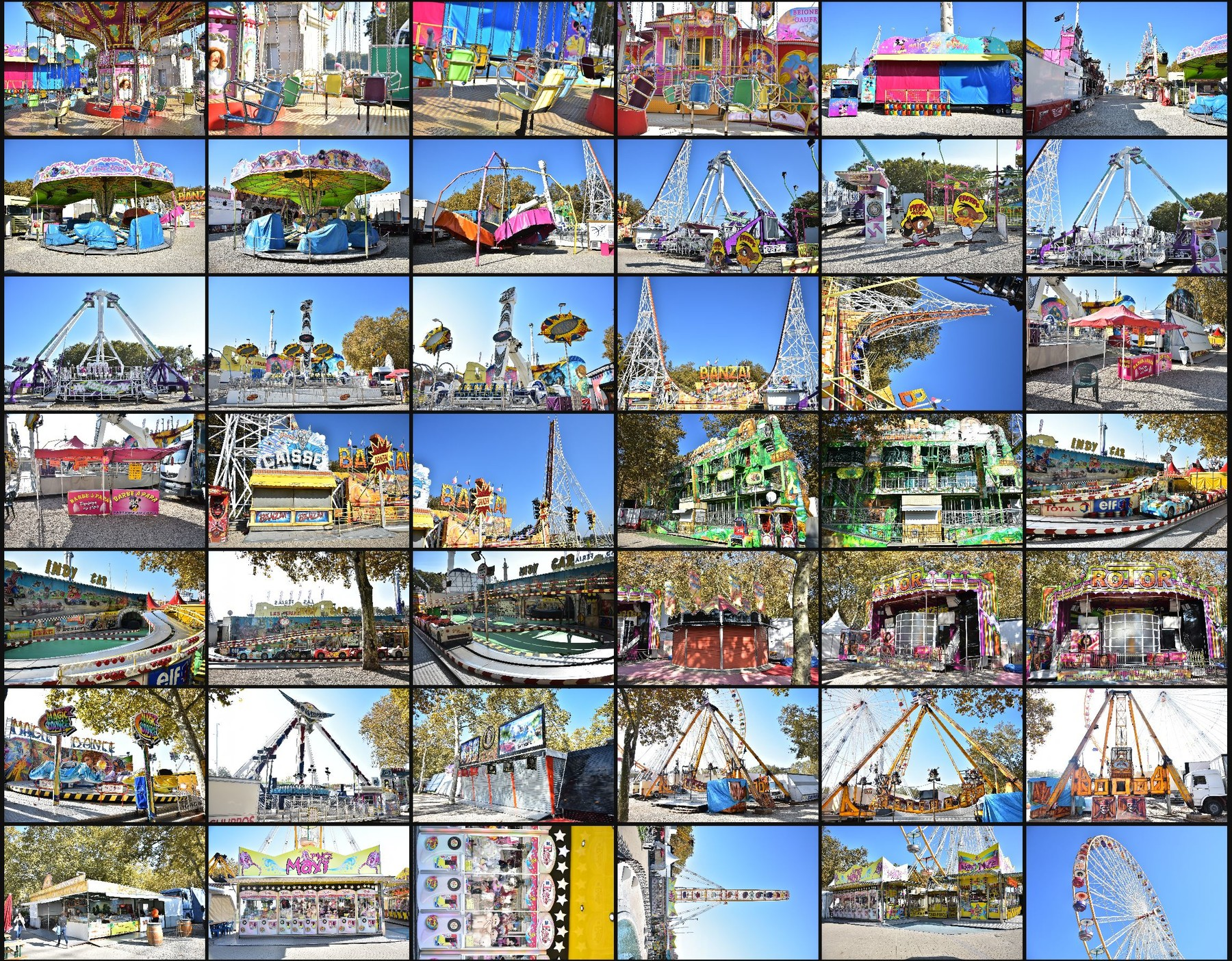 Photo reference pack funfair 13
