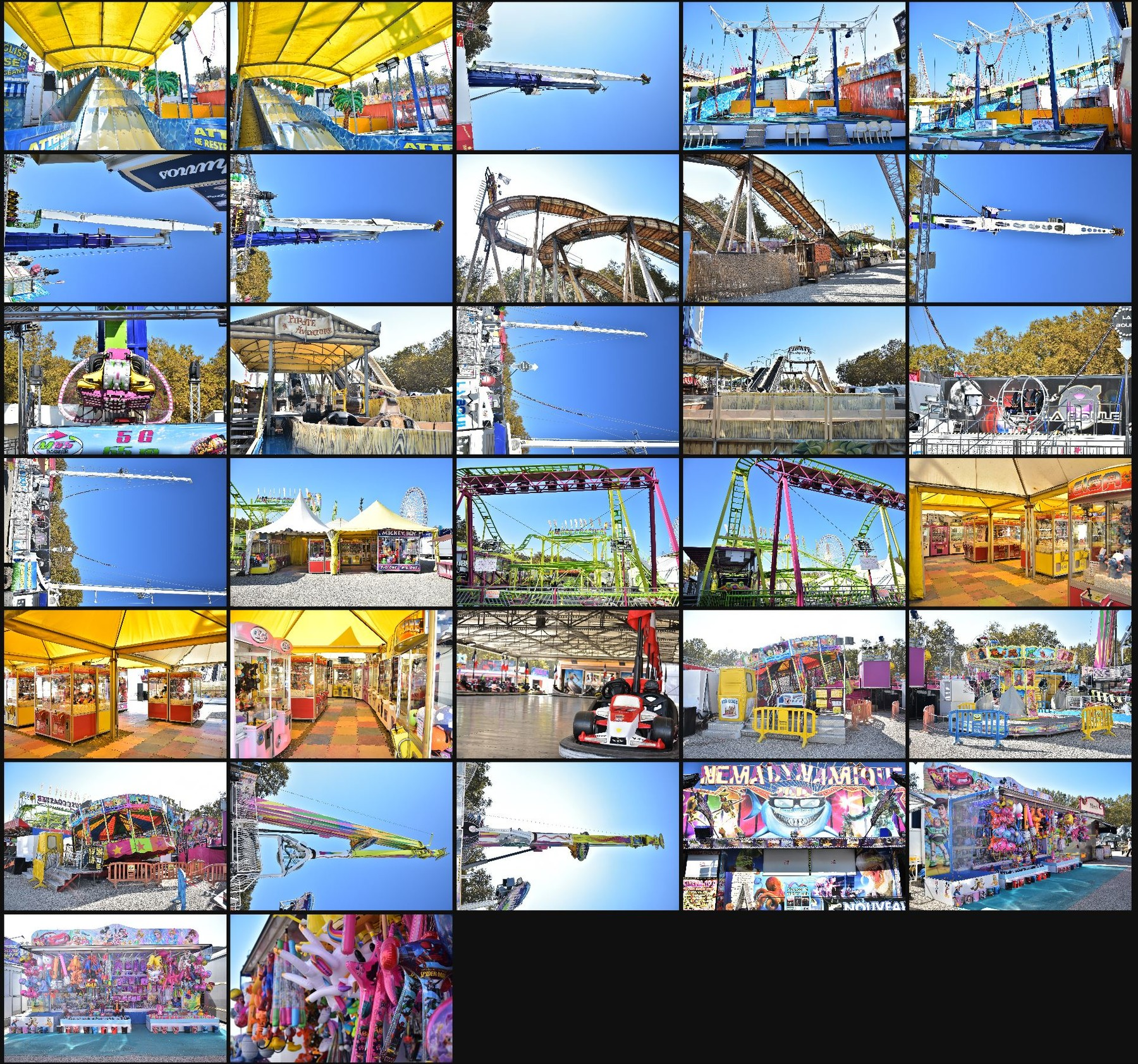 Photo reference pack funfair 15