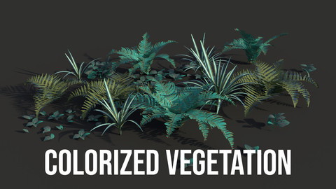 Colorized Vegetation