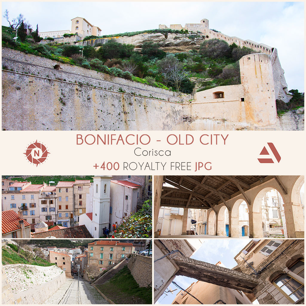 Photo reference pack bonifacio old city 03
