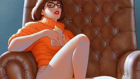 Velma painting process video