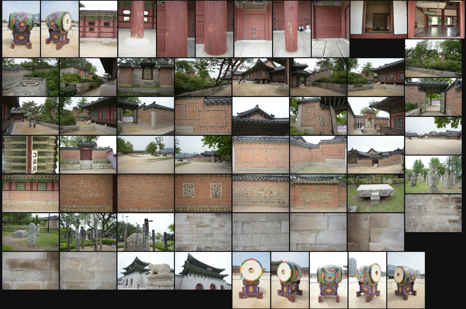 Photo reference pack gyeongbokgung palace 31