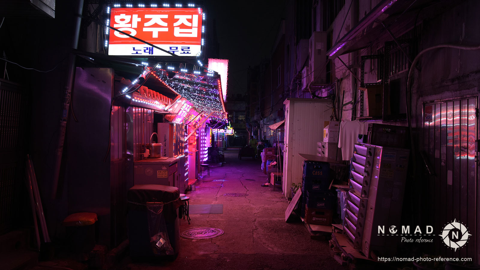 Photo reference pack seoul by night 010