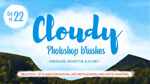 Matt's Photoshop Cloud Brushes