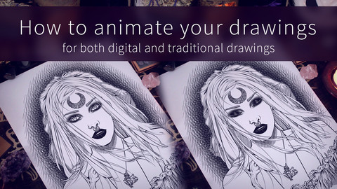 How to animate your drawings