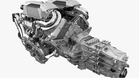 Bugatti Chiron - Divo Engine