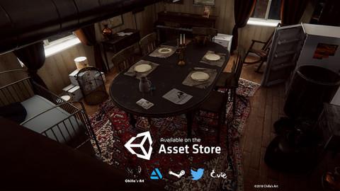 HQ Messy Dining Room PBR