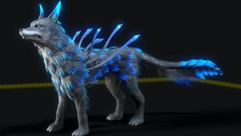 Fire Wolf Maya Rig