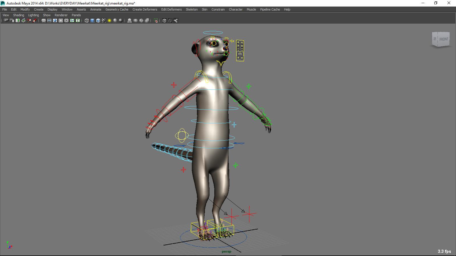Truong CG Artist - Meerkat Maya Rig