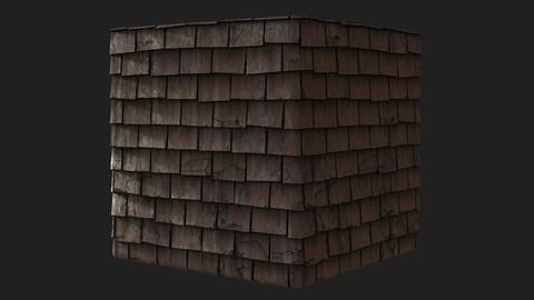 Slate Roof Tiles Substance .sbs .sbsar