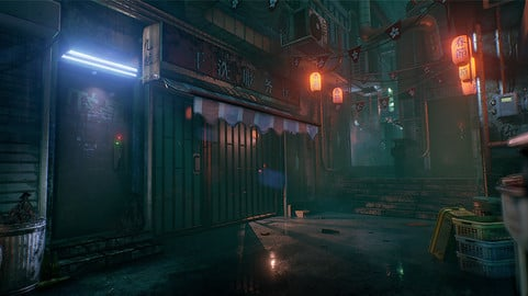 Hong Kong Alley (UE4)