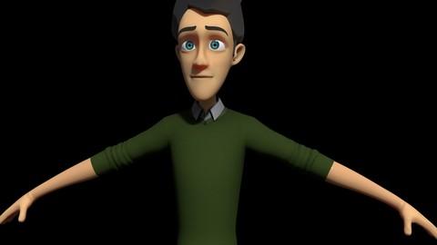 Jerry (cartoon male) Maya Rig