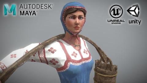 Peasant (Villager) Woman