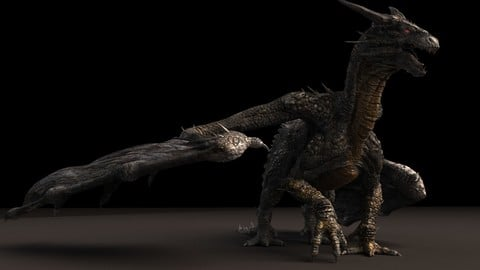 Stone Dragon Maya Rig