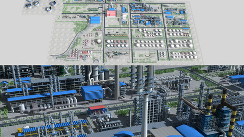A large complete Refinery