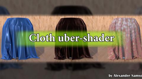 Cloth uber-shader (Blender)