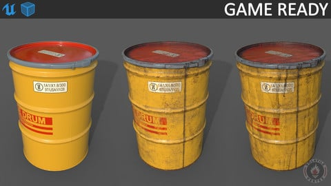 Salvage drum (barrel)