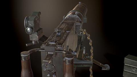 MG08 German Machine Gun