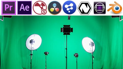 Green Screen Boocamp: Premiere, After Effects, Nuke, Natron, Davinci 15, Fusion, Avid, Blender