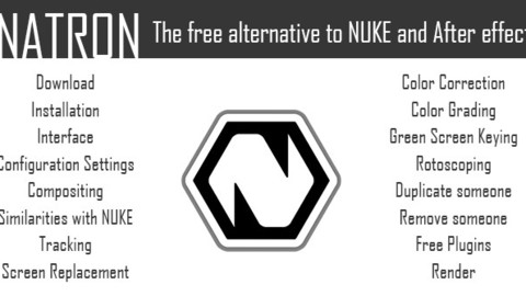 Natron: The FREE & Robust alternative to Nuke & After Effects