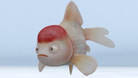 Golden Fish Maya Rig