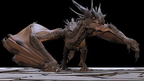 Maya Dragon Rig (Jaemin Dragon)