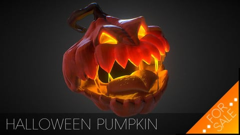 Halloween Pumpkin - Jack O Lantern