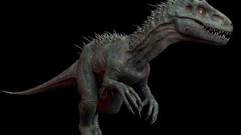 Irex Dinosaur Maya Rig