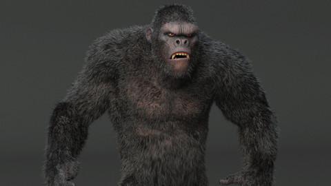 King Kong Maya Rig