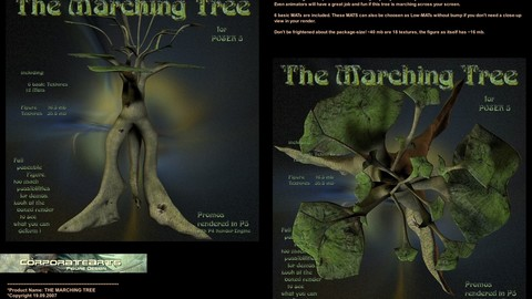 The Marching Tree (Poser / DAZ rig)