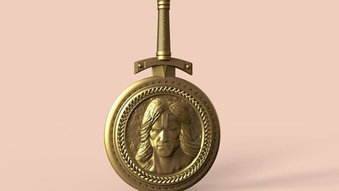 Conan the barbarian medallion and signet